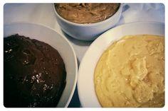 Brigadeiro de chocolate, de amendoim e beijinho!!