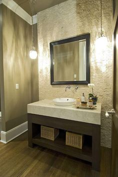 Our favourite little powder room at  Rosebery.