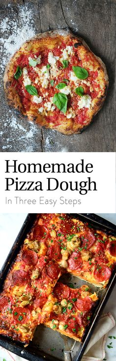 From the crust to your favorite toppings… pizza night isn't delivered. It's homemade!
