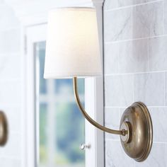Buy American Country Style Iron & Fabric Antique Brass Wall Light with Lowest Price and Top Service!