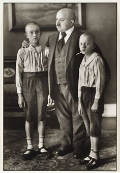 """Widower"", 1914, photo: August Sander (1876-1964)"