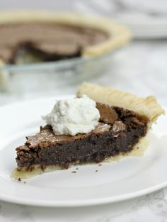 This old-fashioned chocolate fudge pie takes about 10 minutes to make and 30 minutes to bake into the most delicious pie you've ever had!