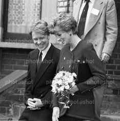 Princess Diana and her brother Earl Spencer
