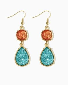 Divine Druzy Earrings | Fashion Jewelry | charming charlie
