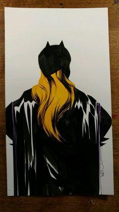 Dustin Nguyen (Batman) Original Batgirl art + free 2016 80pg artbook NO RESERVE Comic Art Auction