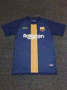 2018-19 Men Barcelona Soccer Trainning Jersey Adult Football Shirt 6838f2994f4dd
