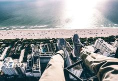 Miami Beach Shoe Selfie with FlyNYON. Doorless Helicopter Flights taking Aerial Photography to New Heights! Shoe Selfie, Aerial Photography, Miami Beach, New York City, New York Skyline, Las Vegas, Dolores Park, San Francisco, Travel