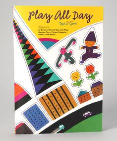 Have this book in waiting...Taro Gomi's Play All Day book