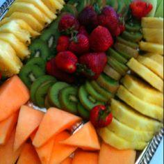 Fruit Tray - like the display