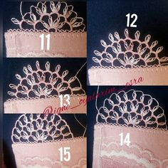 Needle Tatting Tutorial, Couture Beading, Needle Lace, Embroidery Jewelry, Bargello, Olay, Filet Crochet, Crochet Projects, Needlework