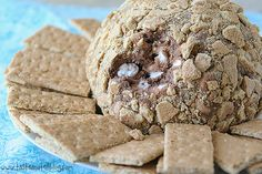 S'mores Cheese Ball - Taste and Tell