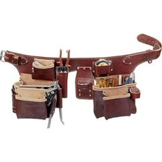 occidental leather makes the best leather tool pouch belt system right here in the usa buy the occidental 5191 sm pro carpenters 5 bag assembly at the