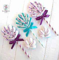 Meringue Cookie Recipe, Meringue Desserts, Cute Desserts, Meringue Kisses, Fondant Animals, Marshmallow Pops, Sweet 16 Parties, Cake Decorating Techniques, Mermaid Birthday