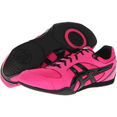 new concept 1c481 3c051 Asics rhythmic 2 hot pink black white at 6pm.com