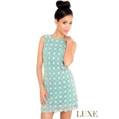 Crochet dress from Lace Boutique Ayr