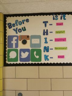 even in schools, we see that there is the need to educate about the very real dangers of social media. What happens online sometimes does not stay online.