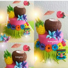 S Hawaii Cake, Birthday Cake, Desserts, Food, Meet, Food Cakes, Fiestas, Tailgate Desserts, Birthday Cakes