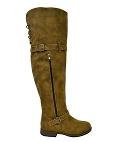 Taupe Layla Over-the-Knee Boot