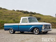 1965 Ford F100 Side