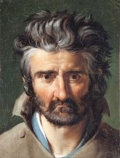 https://flic.kr/p/sSYC87 | Merry-Joseph Blondel - Head of a Man [1818] | Merry-Joseph Blondel (Paris, July 25, 1781 - Paris, June 12, 1853) was a French Neoclassical painter. He won the prestigious Prix de Rome in 1803 for his painting of Aeneas Carrying His Father Anchises, but didn't take his place at the Villa Medici in Rome until 1809, due to the suspension of scholarships. He remained in Rome from 1809 to 1812. At the salon of 1817, he was awarded a gold medal for his painting The Death…