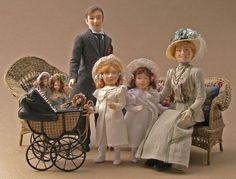 Miniature Doll Art. Marie France Beglan: