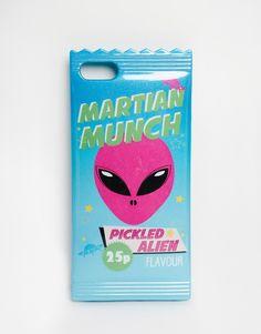 Imagen 1 de Funda para iPhone 5 de silicona con diseño de Martian Munch para Skinnydip