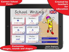 10 codes for School Writing App Cursive Letters, Learning To Write, Eyfs, Social Networks, Coding, Teacher, Lettering, Education, 10 Codes