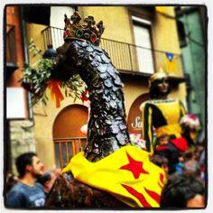 #Patum 2013 by @happyplaceari #Berga #Bergueda #1rpla