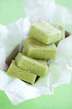 Matcha (Green Tea) Shortbread Cookies http://www.food.com/recipe/matcha-green-tea-shortbread-cookies-112897