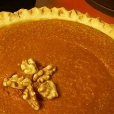 Carrot Spice and Walnut Pie Recipe - Allrecipes.com