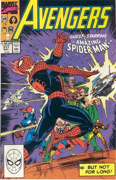Avengers # 317 by Paul Ryan & Tom Palmer