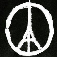 ����Pray For Paris ����❤�� #prayforparis���� #prayforparis