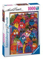 Laurel Burch: Felinos fantásticos | Puzzle adultos | Puzzle | Productos | ES…
