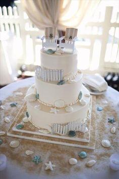 Cape Hatteras Lighthouse Wedding Cake