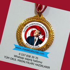 29 ekim cumhuriyet bayramı okul madalyası