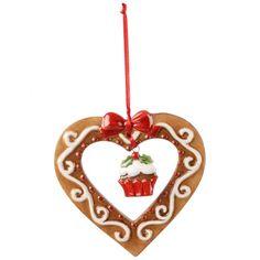 Winter Bakery Decoration Ornament Lebkuchenherz 8cm - Villeroy & Boch