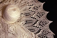 Ravelry: Fragaria Lace Shawl pattern by Alina Appasov