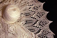 Ravelry: Fragaria Lace Shawl pattern by Alina Appasov