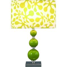lime green lamp - Google Search