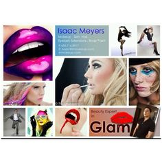 Celebrity Makeup Artist- Isaac Meyers.