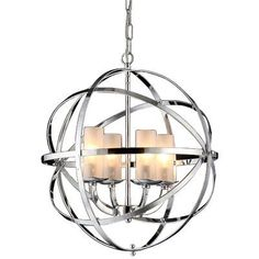 Warehouse of Tiffany Qadira 4 Light Chrome 18 Chandelier Utilize Assembly Required No. Use Color Chrome. Have in one's possession Cate. Tiffany Chandelier, Foyer Chandelier, Foyer Lighting, Chandelier Shades, Pendant Lighting, Kitchen Lighting, Light Pendant, Beach Lighting, Chandelier Ideas