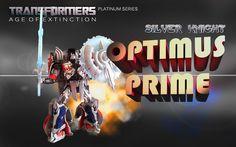 Premium Silver Knight Optimus Prime Toy Review