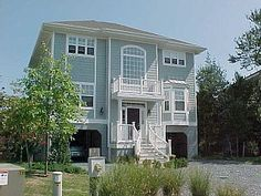 Bethany Beach House Rental: Newer Coastal Single Family Home In North Bethany Beach Delaware - Private Beach | HomeAway