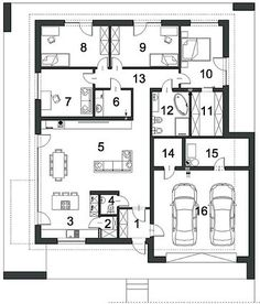Wizualizacje Diagram, Floor Plans, Haus, House Floor Plans