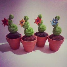 crochet cactus, cactus de ganchillo
