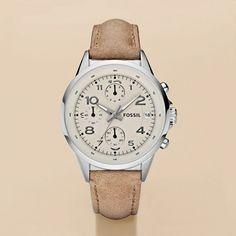 Montre pour femme : Women's Leather Watch