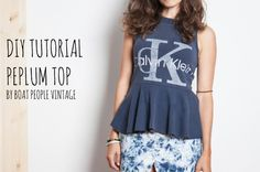 #DIY #tshirt // Does anyone know where the link to this how-to is?