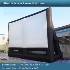 Inflatable Projection Movie Display Screen Home Backyard Theater Photography Camera, Display Screen, Arduino, Theater, Video Games, Backyard, Electronics, Movies, Home
