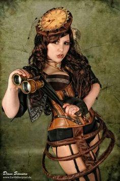 Steampunk dracula clothing - hot