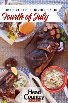 Our Ultimate List of Fourth of July BBQ and Grilling Recipes Bbq Bacon, Smoked Bacon, Bbq Chicken Dip, Country Bar, Fourth Of July Food, Best Bbq, Food Packaging Design, Grilling Recipes, Fall Recipes